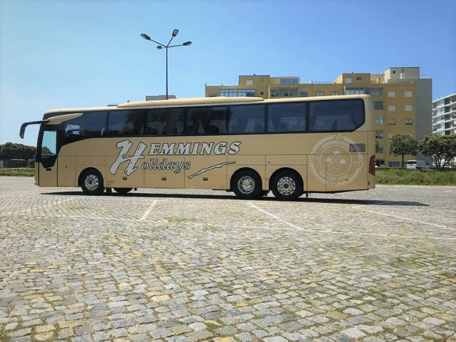 Gold coloured Hemmings coach