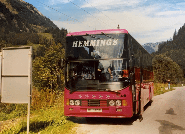 Original pink Hemmings coach